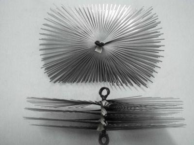 Szczotka kominowa z drutu płaskiego